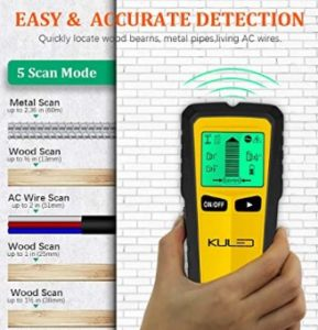 Kuled Stud Finder modes